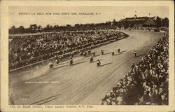 Motorcycle Race, New York State Fair