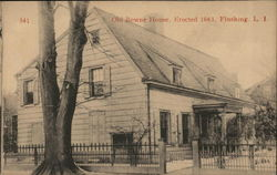Olde Bowne House, Erected 1661, Long Island