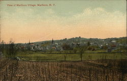 Marlboro Village Postcard
