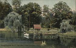 The Lake in Rural Cemetery
