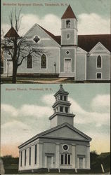 Methodist Episcopal & Baptist Churches