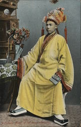 A Chinese Actor at Full Dress Rehearsal