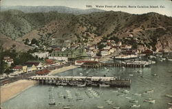 Water Front of Avalon, Santa Catalina Island