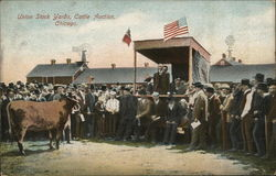 Union Stock Yards, Cattle Auction