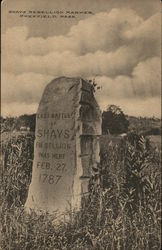 Shays Rebellion Marker