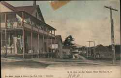R.R. Ave. to the Depot