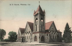 M. E. Church, Whittier, Cal.