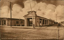 Santa Fe Station and Chamber of Commerce Building
