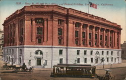 New $1,500,000 Post Office and Federal Building Postcard