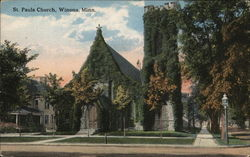 St. Pauls Church Postcard