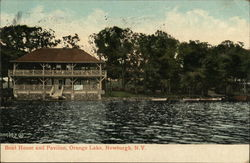 Boat House and Pavilion, Orange Lake