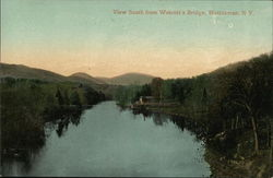 View South from Wotcott's Bridge