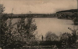 Looking Across Wilber Lake