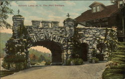 The Port Cochere Postcard