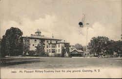 Mt. Pleasant Military Academy from the Play Ground