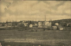 Woodstock Village, East End Postcard