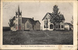 R. D. Church and Parsonage, Gardiner, N. Y.