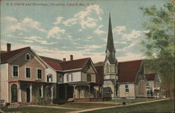 M.E. Church and Parsonage, Phoenicia