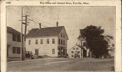 Post Office and General Store, Fayville, Mass.