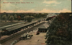 Railroad Station, North Asbury park, N.J.