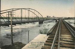 Railroad and Wagon Bridges over the Tuolumne River