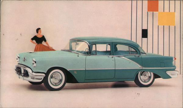 Super 88 4-Door Sedan - Oldsmobile Cars