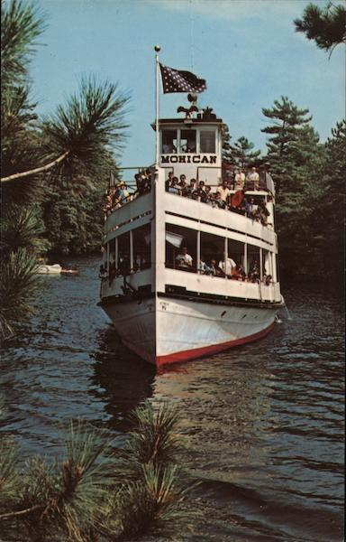 MV Mohican Paradise Bay on Lake George In the Adirondack Mts. of N.Y. New York