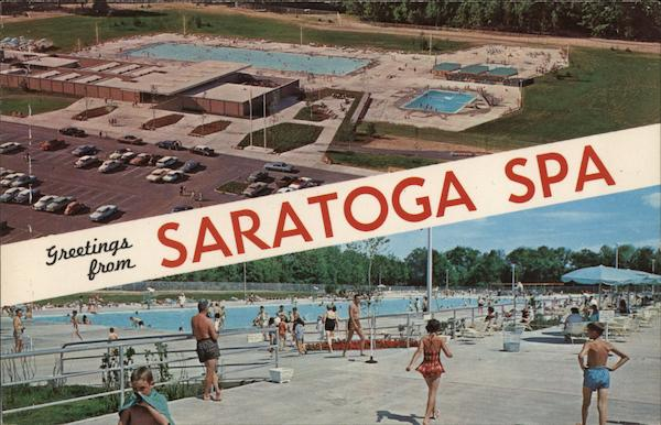 Pools at Saratoga Spa Saratoga Springs New York