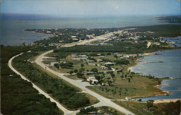 Looking South on Overseas Highway Tavernier Florida