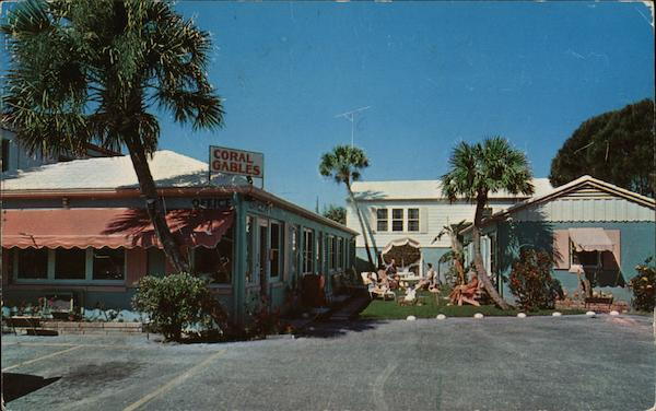 Coral Gables Motel and Apartments Daytona Beach Florida