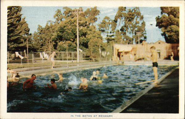 In the Baths Renmark Australia