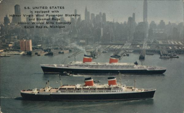 S..S United States and S.S. America Cruise Ships