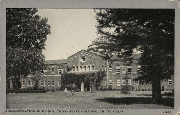 Chico State College - Administration Building California