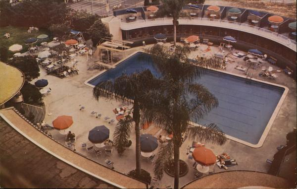 Beverly Wilshire Hotel - Swimming Pool Beverly Hills California