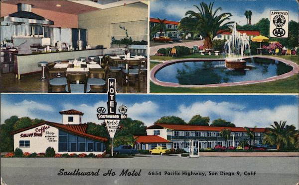 Southward Ho Motel San Diego California