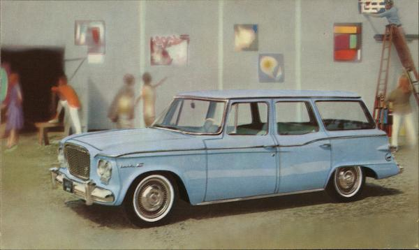 Easy-Entry Lark 4-door Wagon by Studebaker Cars