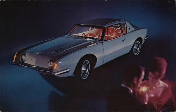 The Studebaker Avanti Cars
