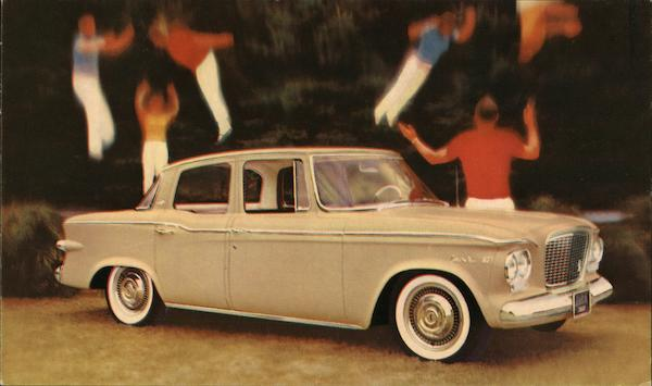 Studebaker Lark 4-Door Sedan Cars