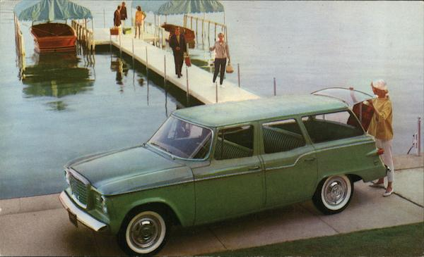 Studebaker Lark 4-Door Station Wagon (Regal) Cars