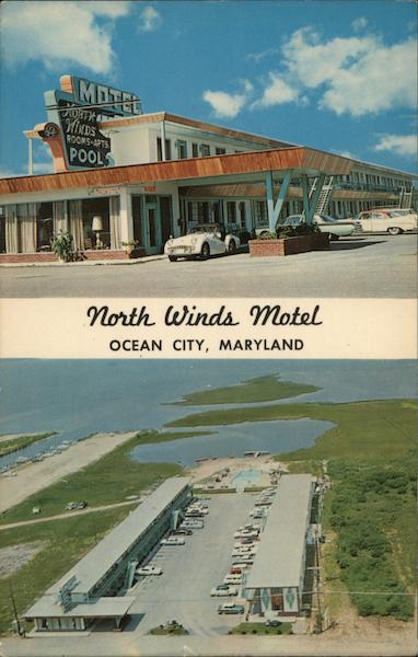 North Winds Motel Ocean City Maryland F. W. Brueckmann