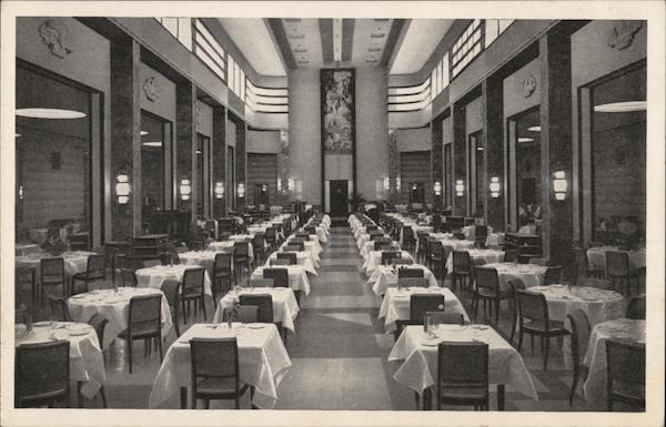 The T. Eaton Co. Limited Department Store - Ninth Floor Restaurant Montreal Canada