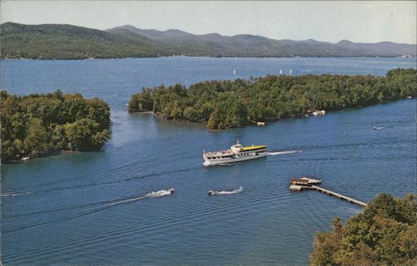 Lake George Islands New York