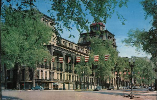 Grand union hotel saratoga springs ny postcard for Hotels saratoga springs new york