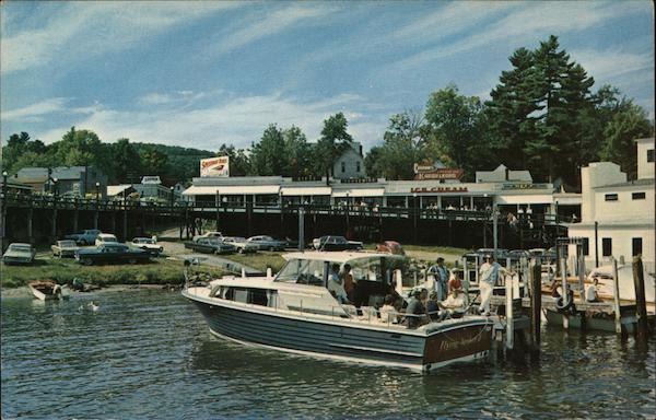 Flying Yankee 11 Docked at Weirs Beach New Hampshire