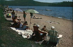 Schroon Lake Beach