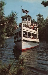MV Mohican Paradise Bay on Lake George In the Adirondack Mts. of N.Y.