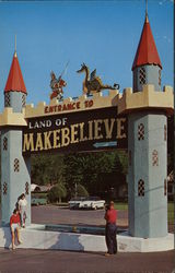 Fountain at Entrance to Colorful Land of Makebelieve