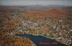 Colorful Autumn at Saranac