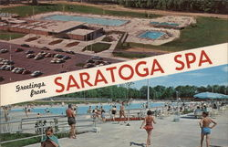 Pools at Saratoga Spa