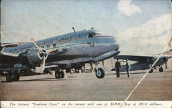 "The Historic ""Southern Cross"" - British Commonwealth Pacific Airlines"